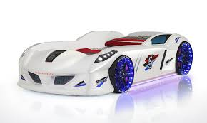 speedy boy u2013 white race car beds for kids buy kids beds online