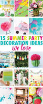 summer party decoration ideas we love on love the day