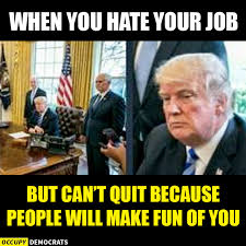 I Quit Meme - funny trump meme when you can t quit your job haha