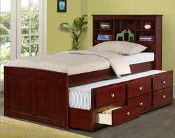 Twin Captains Bed With Drawers Inspiring Twin Captains Bed Plans And Bedroom Bensonhurst Black
