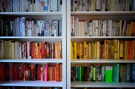 Book List Books For Children My Bookcase Rainbow Rooms Tips For Colour Coding Your Bookshelves