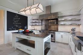 floating kitchen island stainless steel floating kitchen shelves chalkboard wall with