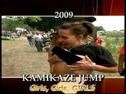 Nude Girl Meme - 2009 kamikaze jump video youtube