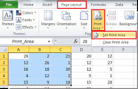 How To Set Up Spreadsheet In Excel How To Set Print Area To Worksheets At Once In Excel