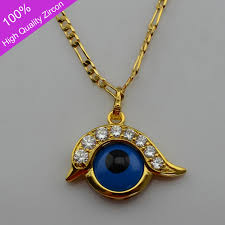 eye pendant necklace images Turks blue evil eyes necklace pendants 24k gold plated with high jpg