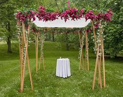 how to build a chuppah wooden chuppah our jecular wedding a chuppah to call our own