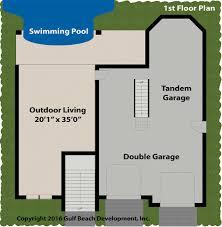 blue tide florida house plan gast homes blue tide 1st floor