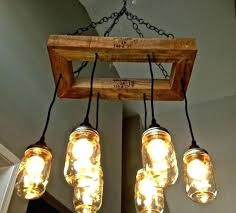 Bulb Light Fixture Jar Light Fixtures Bulb Chandelier Jar Lighting