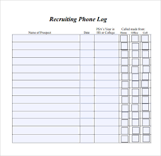 phone log template academic phone log template for schools phone