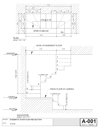 Designing Stairs Drawing Fire Escape Stair Dimensions Visit Deck Railing Http