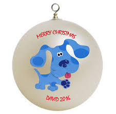 personalized blues clues ornament add name ebay