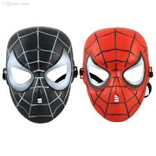 wholesale terbaru spiderman mask halloween natal pesta topeng
