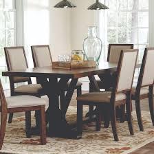 bridgeport rustic craftsman base dining table