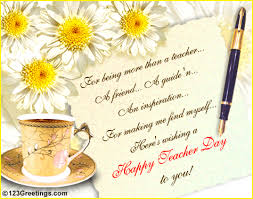 more than a free teachers day ecards greeting cards