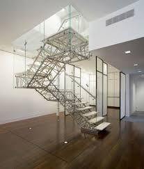 Industrial Stairs Design Awesome Modern Glass Stairs Design 3d Industrial Design