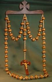wall rosary paternosters wood wall rosaries