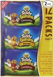 teddy gram delivery teddy grahams snacks variety pack 1 ounce packages
