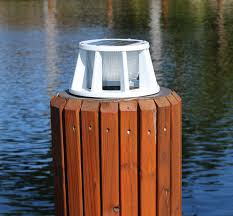 Marine Solar Lights - battery watering systems marine dock products solar dock lights