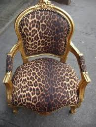 Leopard Armchair Leopard Print Armchair A Gold Louis Armchair Upholstered In