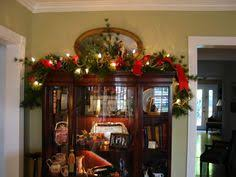 pretty christmas decor hutch decorating idea hi my name is