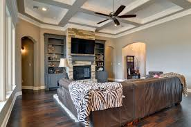 Gray And Beige Living Room Couto Homes Paint Color Scheme Walls And Ceilings Sherwin Perfect