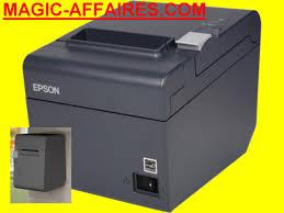 caisse de bureau epson tm t20ii imprimante ticket caisse à reçu version usb série