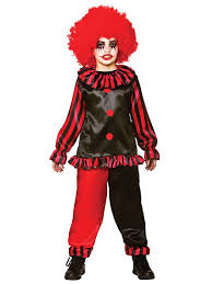 killer clown costume kids killer clown costume horror party