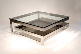 Glass Sofa Table Modern Living Room Sofa Amazing Two Tier Contemporary Mirrored Coffee