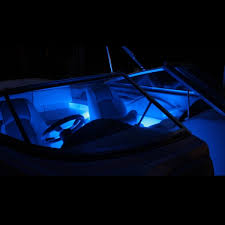 pontoon boat led light kits boat lights blue waterproof bright led lighting kit
