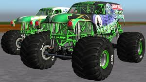 grave digger legend monster truck sim monsters