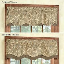 Valances For Bay Windows Inspiration Window Valance Ideas Fabulous Curtains And Valances Ideas