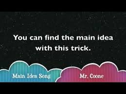 the main idea song youtube