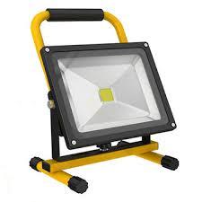battery powered portable led work lights battery operated flood lights dosgildas com