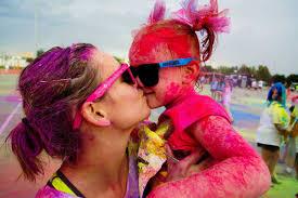 color fun fest 5k kids 12 u0026 under free color fun fest