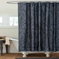gray and black shower curtains u2013 teawing co