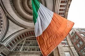 Images Of The Irish Flag File World U0027s Largest Irish Flag Swaying In The Wind Boston Ma