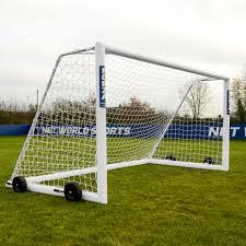 3 7m x 1 8m 12ft x 6ft forza alu110 freestanding soccer goal