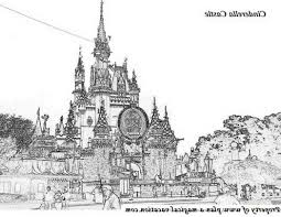 disney castle coloring free coloring pages art coloring pages