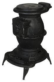 Pot Belly Stove With Glass Door by Can I Put A Wood Stove In Front Of A Window Hunker