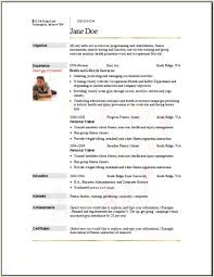Personal Trainer Resume Sample by Fitness Resume Examples Resume Format 2017