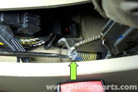 bmw e90 parking brake adjustment e91 e92 e93 pelican parts