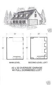 building plans and blueprints 42130 30x32 2 car 2 8 ft dormers