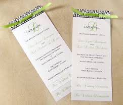 layered wedding programs scrapping innovations laci and neil layered wedding programs