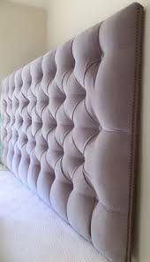Wall Hung Headboard by King Sized Extra Thick Extra Tall Tufted Upholstered Headboard