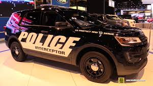 ford earthroamer interior 2015 ford explorer police interceptor exterior and interior