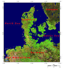 Baltic Sea Map Hamburg And The Kiel Canal Connecting The North Sea And The Baltic