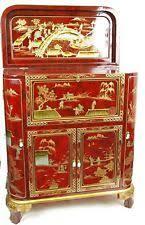 Asian Bar Cabinet Glass Asian Cabinets Cupboards Ebay