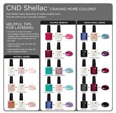 cnd shellac new nail colour layering guides shellac layering