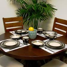 Dining Room Plate Sets by Gray Dinnerware Sets Dinnerware The Home Depot