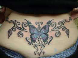 tramp stamp butterfly vines by kenpower on deviantart